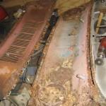 Mustang Cowl Rust